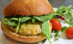 Jalapeno Turkey Burger