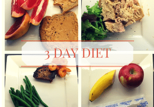 Lose ten pounds in three days