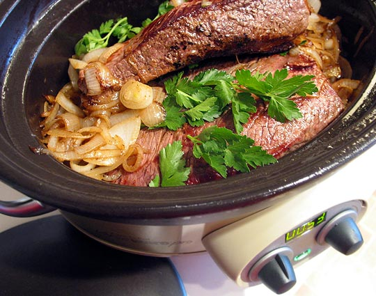 make dinner easy slow cooker