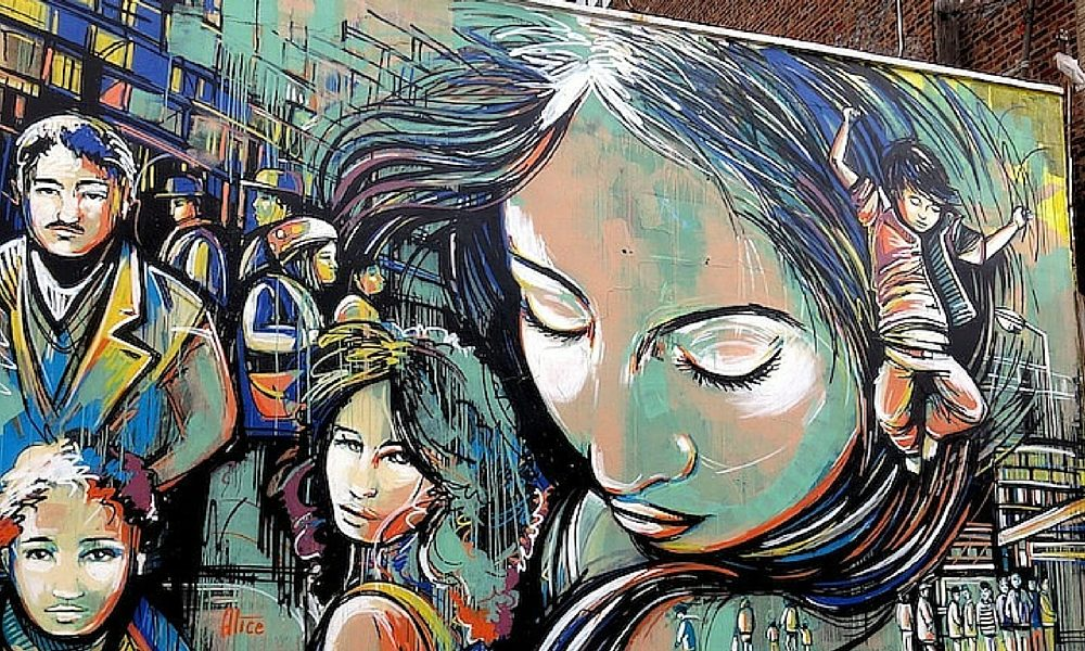 free art NYC Alice Pasquini