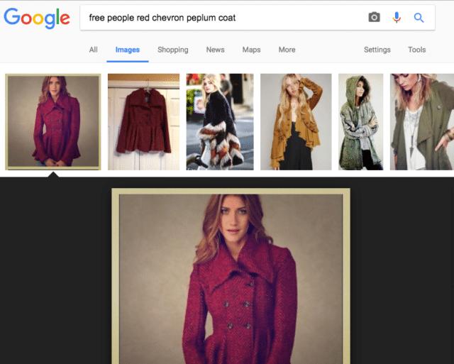 poshmark covershot image search