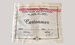Cartonnier label