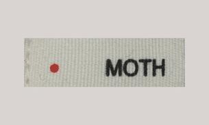 moth label